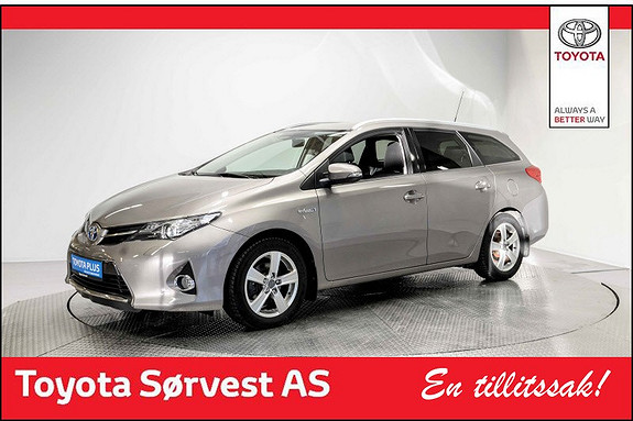 Toyota Auris Touring Sports 1,8 Hybrid Active+  2015, 42 252 km, kr 238 000,-