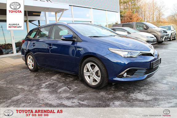Toyota Auris Touring Sports 1,8 Hybrid Active  2016, 55 200 km, kr 259 000,-