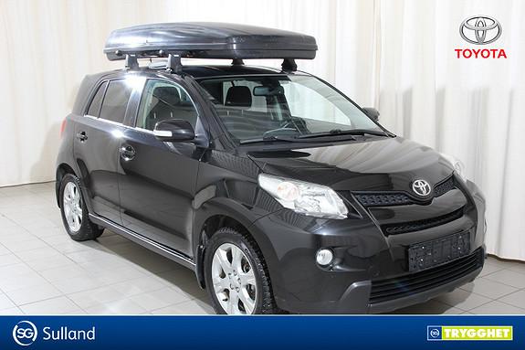Toyota Urban Cruiser 1,4 D-4D Elegant AWD Hengerfeste, aircondition, 4WD