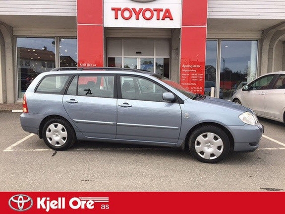 Toyota Corolla 1,6 Sol  2003, 174566 km, kr 49000,-