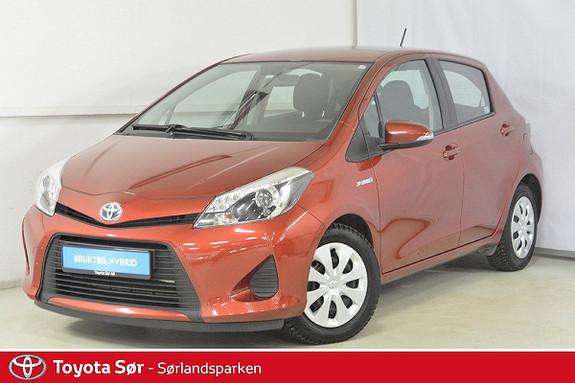 Toyota Yaris 1,5 Hybrid Active e-CVT Innbyttegaranti kr. 20.000,-  2013, 61000 km, kr 149000,-