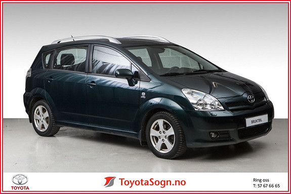 Toyota Corolla Verso 2,0 D-4D  2005, 134000 km, kr 85000,-
