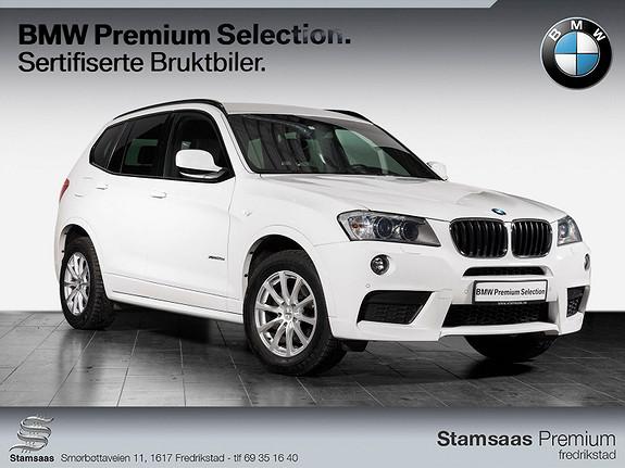BMW X3 xDrive20d 163hk aut I Radio DAB+I M-Sport I Navigasjon