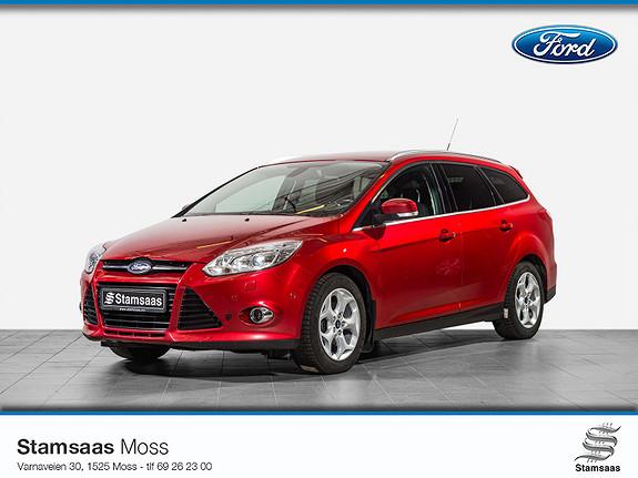 Ford Focus 1,6 TDCi 115hk Titanium l Hengerfeste l Radio DAB+ l