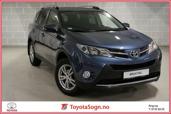 Toyota RAV4 2,0 D-4D 4WD Active HENGERFESTE  2014, 43000 km, kr 289000,-