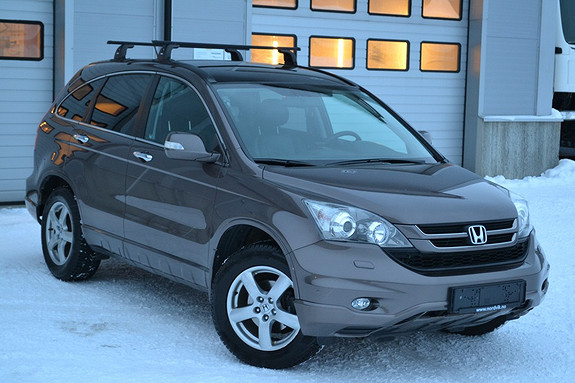 Honda CR-V 2,0 Executive aut Skinn, h.feste, tectyl, ditec, ryggek  2010, 84828 km, kr 219000,-