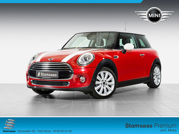 MINI Cooper D DAB+, NAVI PROFF, CHILI, 17'', TLF. LED, WIRED, NORSK