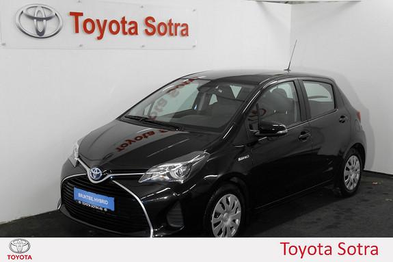 Toyota Yaris 1,5 Hybrid Active S e-CVT DAB+ NORSK, NAVI  2016, 45800 km, kr 189000,-