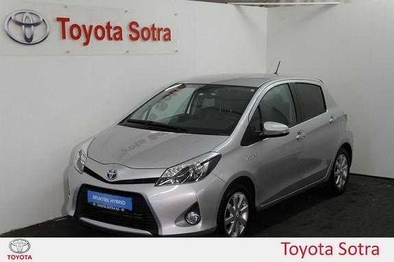 Toyota Yaris 1,5 Hybrid Style e-CVT  2014, 46400 km, kr 169000,-