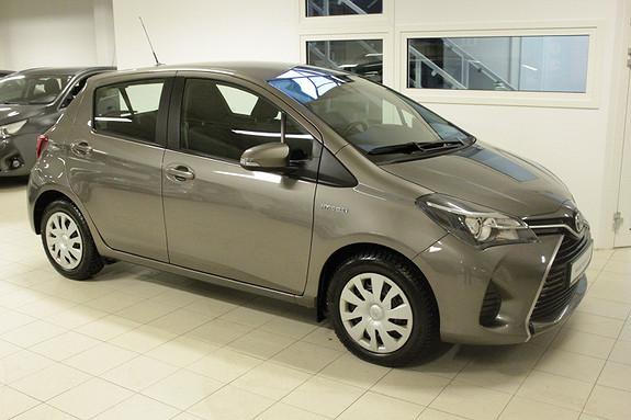 Toyota Yaris 1,5 Hybrid Active S e-CVT  2016, 19079 km, kr 189000,-