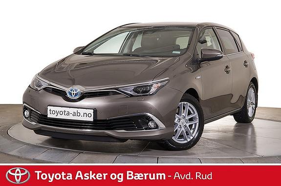 Toyota Auris 1,8 Hybrid E-CVT Executive  2017, 4400 km, kr 309000,-