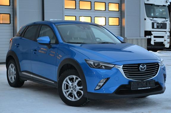 Mazda CX-3 2,0 150hk Optimum AWD aut hengerfeste, skinn, navi ++ +  2016, 37351 km, kr 316000,-