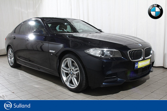 BMW 5-serie 520d xDrive aut M.Sport-Act.cruise-Navi-DAB-dieselv-lær