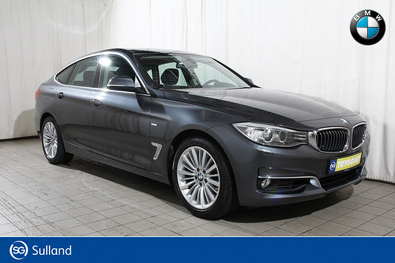 BMW 3-serie 320i xDrive GT aut LuxLine-Fj.lysaut-Krok-DAB-oppv.ratt