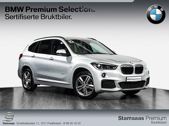 BMW X1 xDrive18d 136hk aut I M-Sport I NavigasjonssystemI DAB+