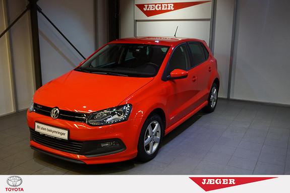 Volkswagen Polo 1,2 90hk TSI DSG Edition  2014, 21100 km, kr 169000,-