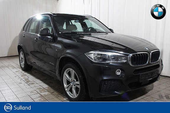 BMW X5 xDrive25d 231hk M sport -Ex. Sundby-Alt utstyr-se liste