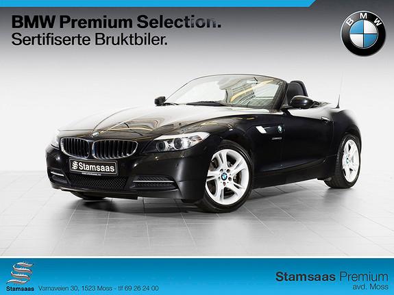 BMW Z4 sDrive20i MARKEDETS VAKRESTE CABRIOLET! VINTERPRIS!