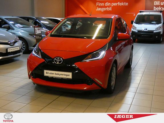 Toyota Aygo x-play 1,0  2014, 21400 km, kr 139000,-