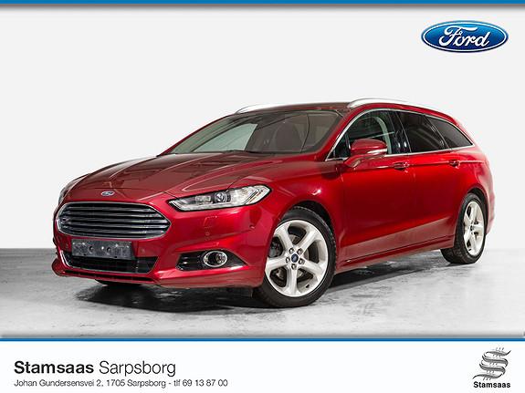 Ford Mondeo 2,0 TDCi 150hk Titanium aut l Webasto l Hengerfeste l