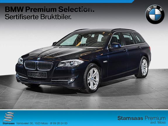 BMW 5-serie 520d Touring (184hk) Automat KOMFORTSETER, PANO, HIFI +