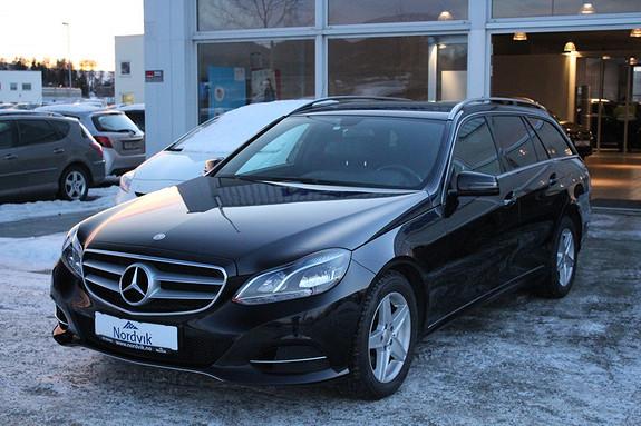 Mercedes-Benz E-Klasse E200 CDI aut Del-skinn. Tilhengerfeste. NAVI.  2014, 49475 km, kr 359000,-