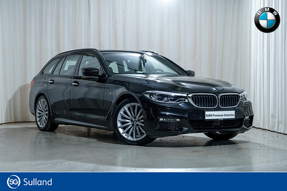 BMW 5-serie 530d xDrive Touring aut M-Sport Navi Nappa Act.Steering