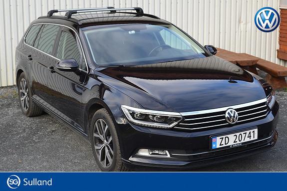 Volkswagen Passat 1,6 TDI 120hk Comfortline DSG automatgir/webasto/LED