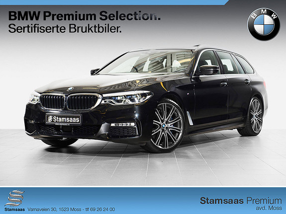 BMW 5-serie 530d xDrive Touring aut M SPORT, 265 HK, NY I NORGE!