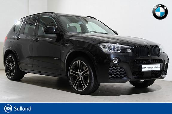 BMW X3 xDrive35d aut -313HK-M-HUD-EDC-NAVI-DAB+-WEBASTO+