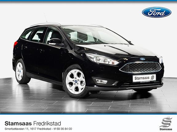 Ford Focus 1,0 EcoBoost 100hk Trend Krok, Lav km