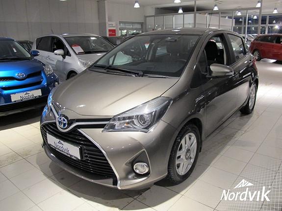 Toyota Yaris 1,5 Hybrid Active S e-CVT  2016, 22500 km, kr 209000,-