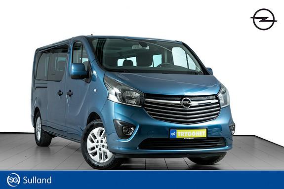 Opel Vivaro 1,6 BiTurbo 125hk Premium L2H1 8 SETER-UTSTYRSBOMBE !