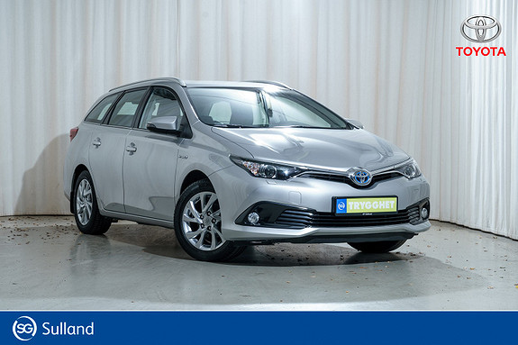 Toyota Auris Touring Sports 1,8 Hybrid Active ''Som ny'', MEGET pen!