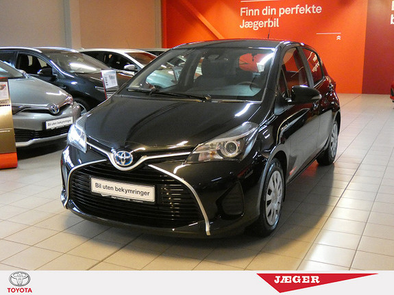 Toyota Yaris 1,5 Hybrid Active S e-CVT  2016, 47200 km, kr 209000,-