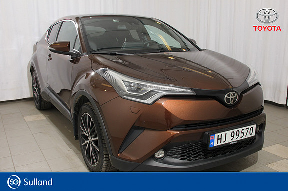 Toyota C-HR 1,2T Supreme Tech 4WD aut Norges kuleste bilmodell