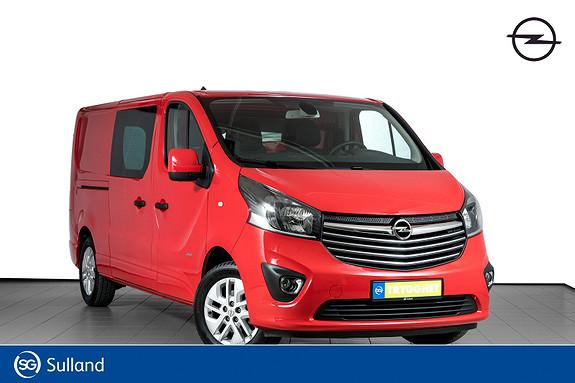 Opel Vivaro 1,6 BiTurbo 125hk Premium L2H1 2X SKYVEDØR-RYGGEKAMERA