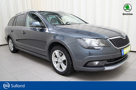 Skoda Superb 2,0 TDI 140hk 4x4 Ambition B. Outdoor