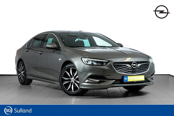 Opel Insignia Grand Sport PREMIUM 165hk aut FULL OPC PAKKE-NAPPASKINN
