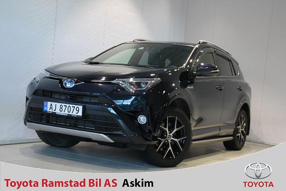 Toyota RAV4 Hybrid AWD Active Style Dark Blue Edition  2017, 11000 km, kr 469000,-
