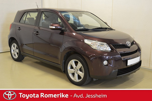 Toyota Urban Cruiser 1,4 D-4D Dynamic AWD Eber parkeringsvarmer/fjernkontrol  2011, 85800 km, kr 149000,-