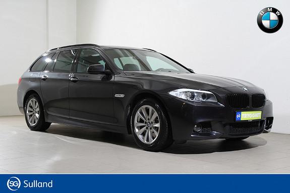 BMW 5-serie 525d xDrive 211hk Automat M-Navi-HiFi-Kamera-Panorama++