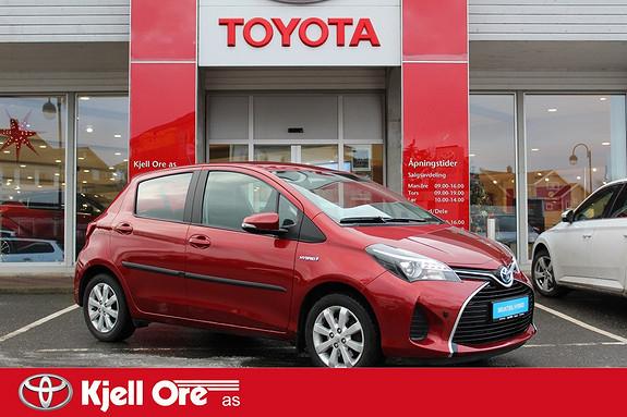 Toyota Yaris 1,5 Hybrid Active e-CVT m/ DEFA, Navi, Ryggekamera ++  2014, 41936 km, kr 169000,-