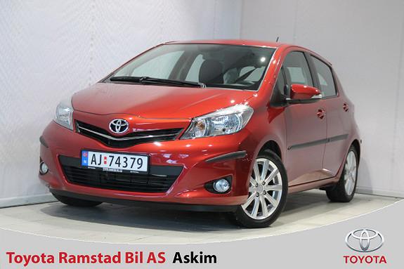 Toyota Yaris 1,33 Style  2012, 58500 km, kr 119000,-