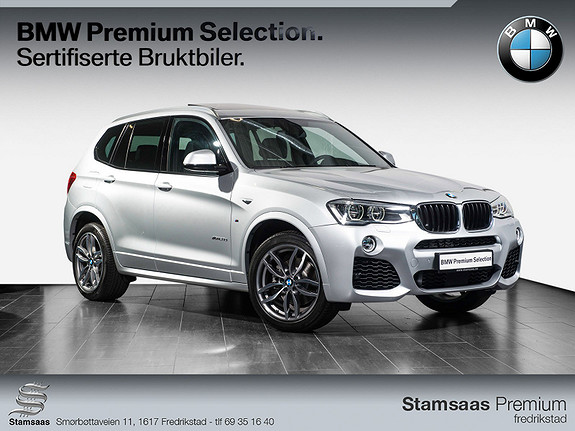 BMW X3 xDrive20d 190hk 100 Edition aut I Head Up I M-Sport I