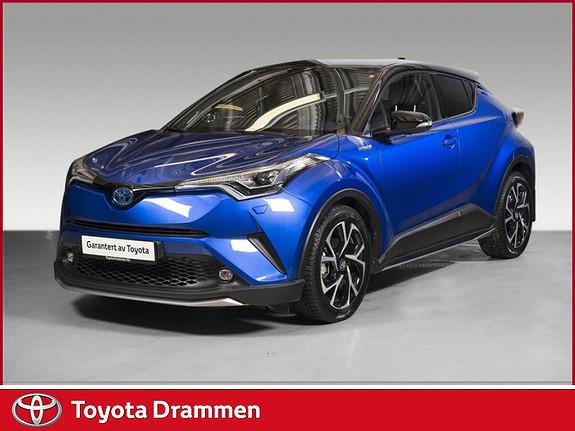 Toyota C-HR 1,8i Hybrid Dynamic Tech  2017, 8860 km, kr 359000,-