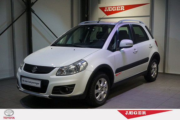 Suzuki SX4 SX 4 1,6 GLX 4x4 120 HK Bensin- Navigasjon.Bluetooth.  2013, 49852 km, kr 165000,-