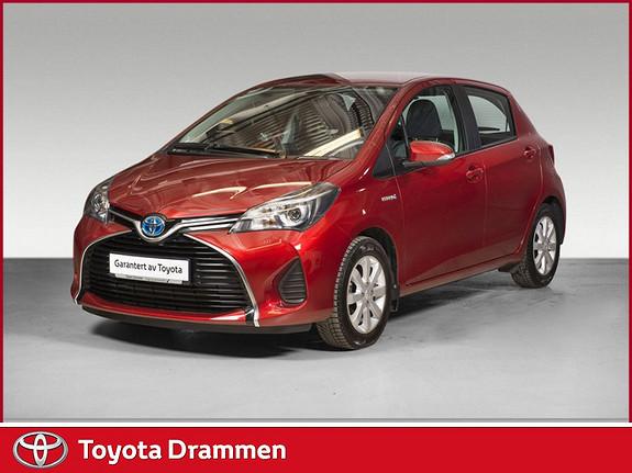 Toyota Yaris 1,5 Hybrid Active e-CVT Se kilometer!!  2014, 14750 km, kr 159000,-