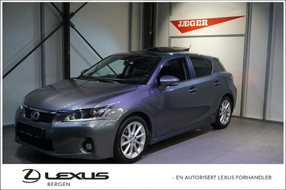 Lexus CT200h 200h Comfort LED hovedlys (nærlys), Navigasjon Soltak  2012, 34000 km, kr 219000,-