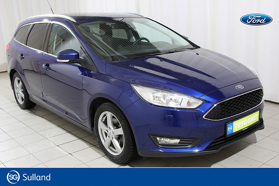 Ford Focus 1,0 EcoBoost 100hk Trend Alle servicer Radio DAB+